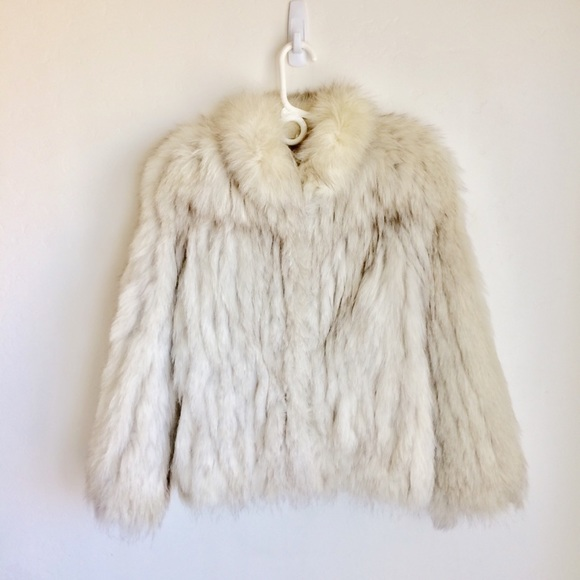 Saga Furs Jackets & Blazers - Saga Fox Fur Jacket Silver Tan Accents XS